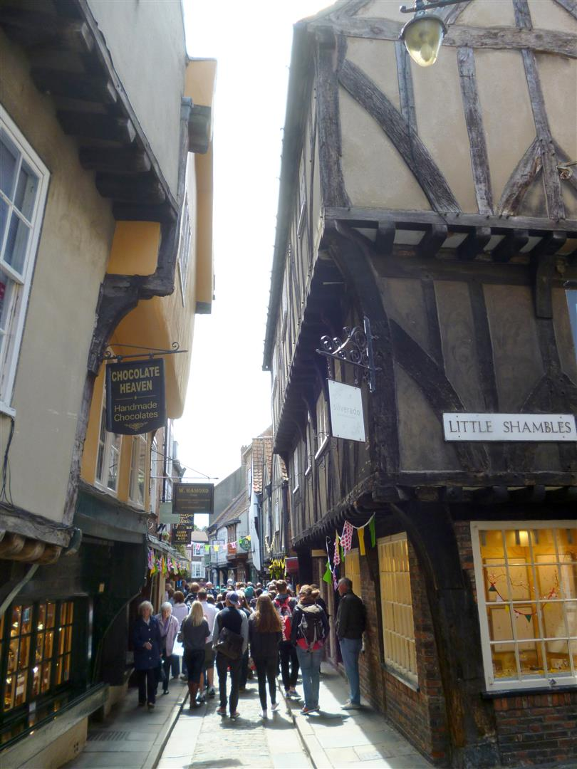Foto 9 The Shambles in York